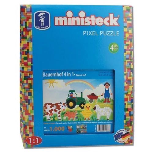 Image of Ministeck bondegård 4i1, 1000st. (4250250315836)