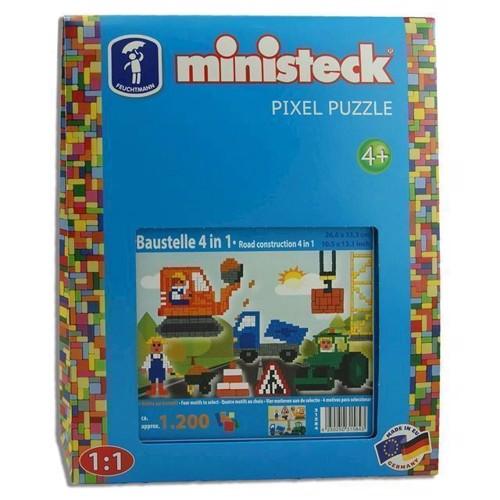 Image of Ministeck byggeplads 4i1, 1200st. (4250250315843)