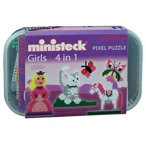 Image of Ministeck pige sæt, 500st. (4250250325781)