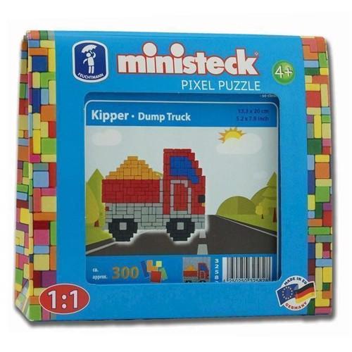 Image of Ministeck lastbil med lad 300 stk (4250250325828)