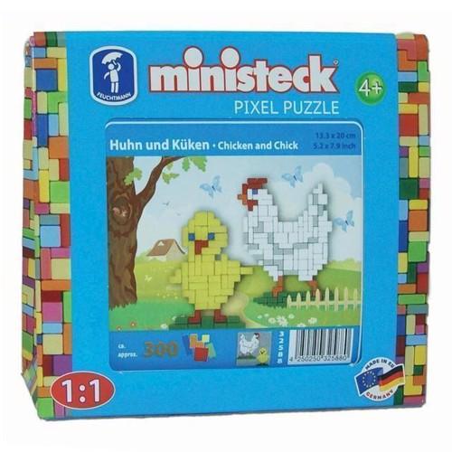 Image of Ministeck høne og kylling, 300st. (4250250325880)