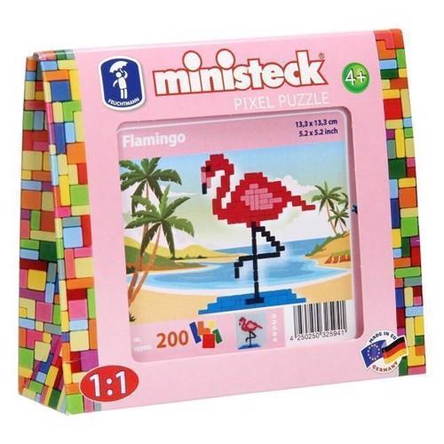 Image of Ministeck flamingo 200 dele (4250250325941)