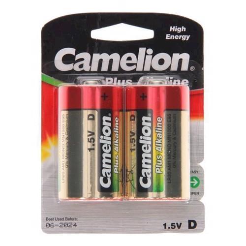 Image of Camelion Plus Batteri Alkaline D / LR20, 2 stk