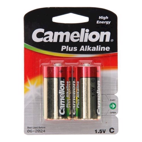 Image of Camelion Plus Batteryi Alkaline C / LR14, 2 stk