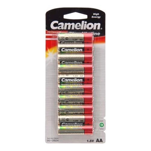 Image of Camelion Plus Batteri Alkaline AA / LR6, 10 stk