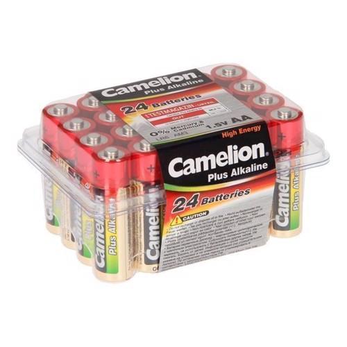 Image of Camelion Plus Batteri Alkaline AA / LR6, 24 stk