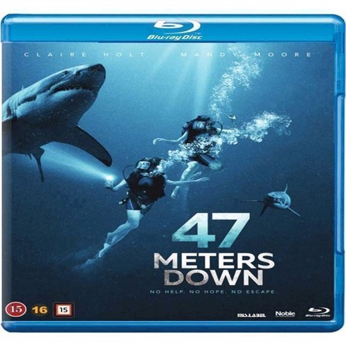 Image of 46 Meters Down BluRay (5705535059343)