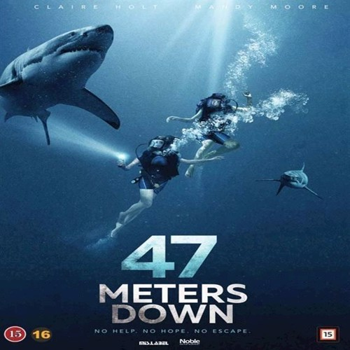 Image of 46 Meters Down DVD (5705535059336)