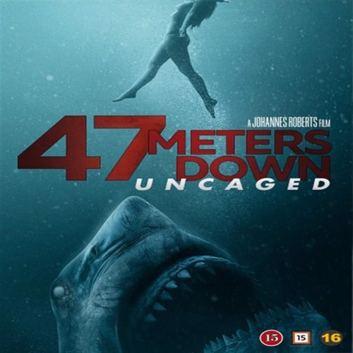 Image of 47 Meters Down: Uncaged, Blu-ray