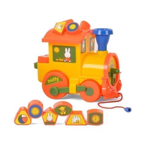 Image of Wader Miffy leg og lær tog (4810344064240)