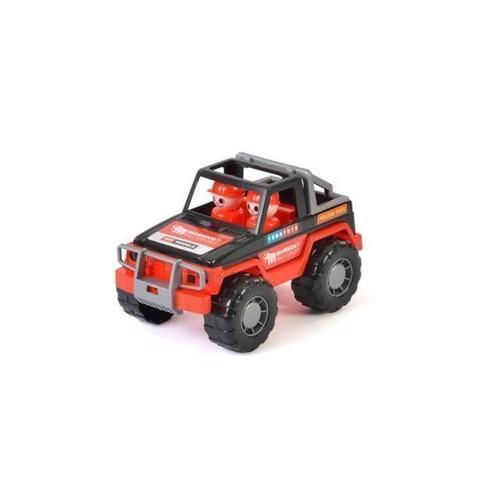 Image of Mammoth, jeep med figurer
