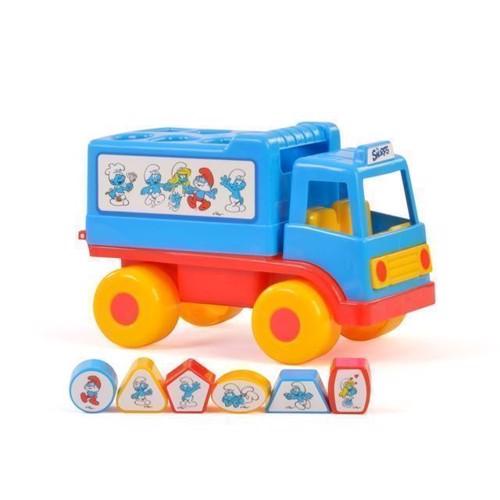 Image of   Wader, smølfe leg og lære lastbil