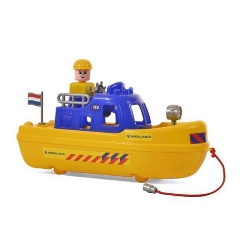 Image of Wader hollansk ambulance båd