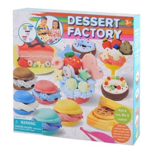Image of Playgo, modellervoks sæt, dessert