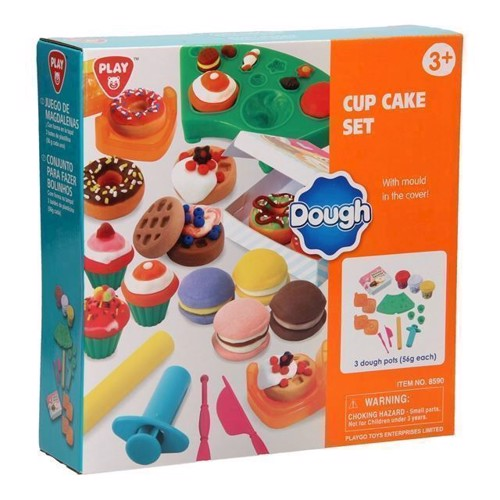 Image of   Modellervoks, Playgo Cupcake