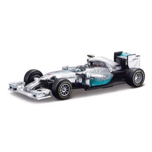 Image of Bburago Mercedes Racerbil Lewis Hamilton (4893993380268)