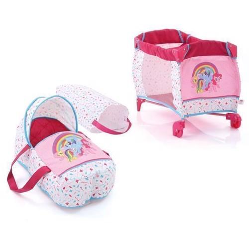 Image of My Little Pony, dukke seng og rejse taske (4894352902787)