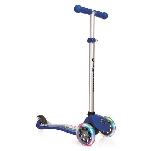 Image of   Globber løbehjul med lys, blå