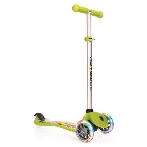 Image of   Globber løbehjul med lys, grøn