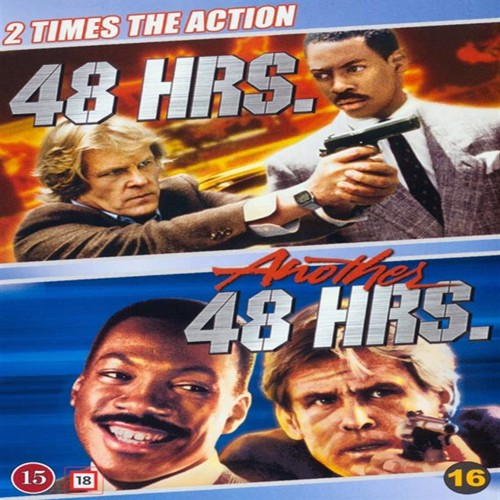 Image of 48 Hrs. & Another 48 Hrs. - DVD (7340112735227)