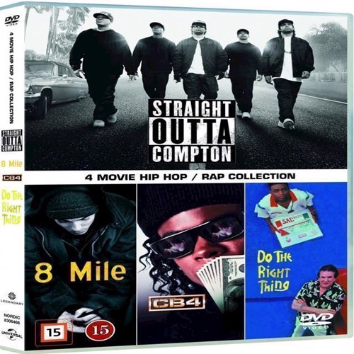 Image of 3 Movie Hip HopRap Collection Box Dvd DVD (5053083064662)
