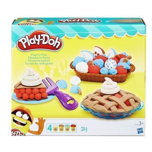 Image of Playdoh, tærte og kage