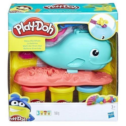 Image of Playdoh, hvalen Wavy (5010993462476)