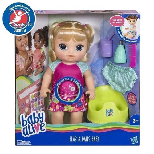 Image of Baby Alive dukke, kan danse og tisse (5010993523979)