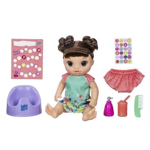 Image of Baby Alive dukke, tisse og danse baby (5010993523993)