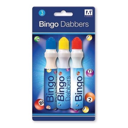Image of Bingo banko stempel tusser, 3 stk (5012128167393)