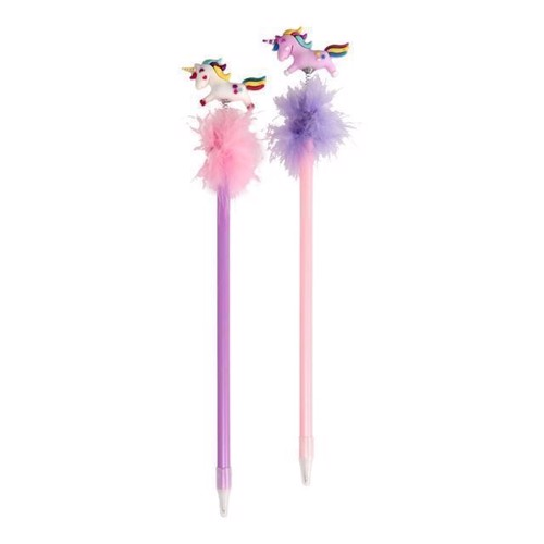 Image of   Fluffy blyant med enhjørning, 1 stk