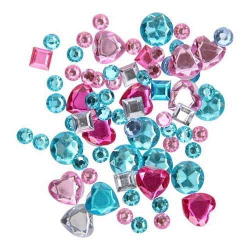 Image of 3D klistermærker, diamant