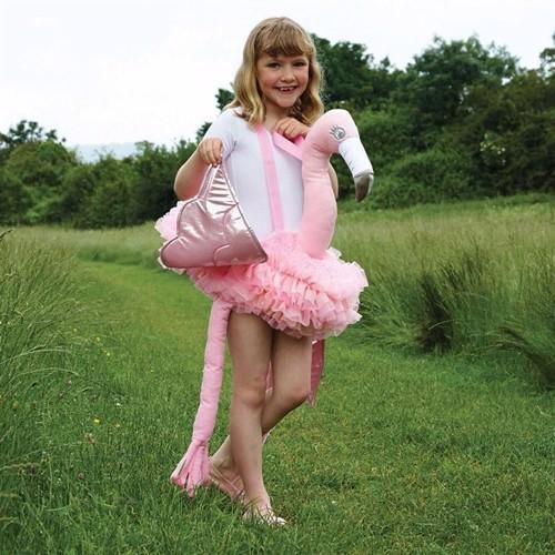 Image of Udklædning, Flamingo ridetur, 4-10 år (5014568232891)