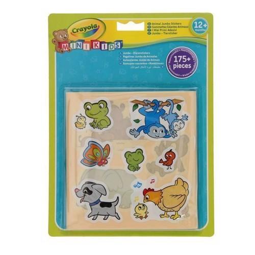 Image of Crayola Mini Kids, klistermærker med dyr