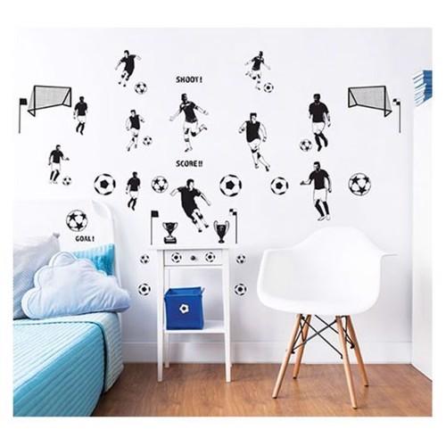 Image of   Walltastic, vægklistermærke, fodbold