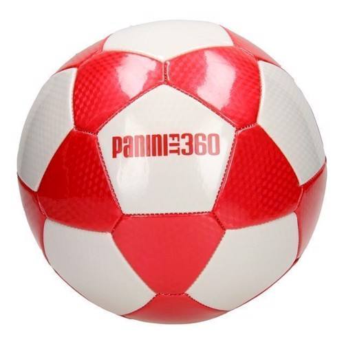 Image of Læder fodbold rød, Panini