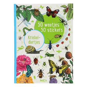 Image of   50 Facts 50 Stickers - Kriebeldiertjes