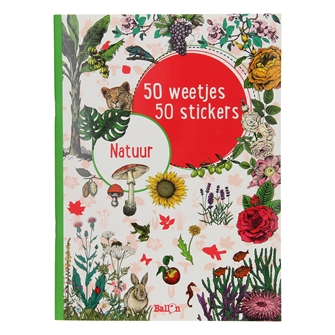 Image of   50 Facts 50 Stickers - Nature
