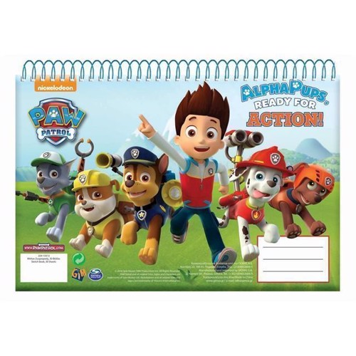 Image of Paw Patrol Sketchbook A3 (5204549114043)