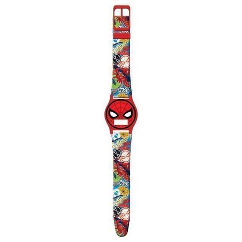 Image of   Børne armbåndsur Digital, Spiderman