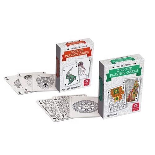Image of Farvede spillekort (5411068830877)