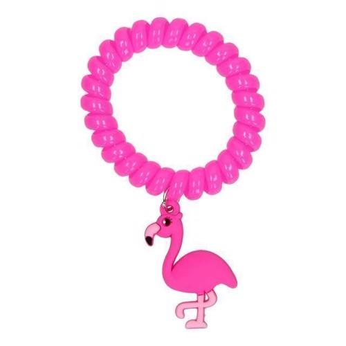Image of Armbånd med Flamingo, pink (5413247004161)