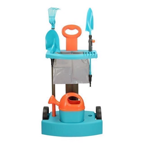 Image of   Gardena Haveredskaber med trolley til børn