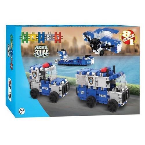 Image of Clics Hero Squad, politi (5425002305758)