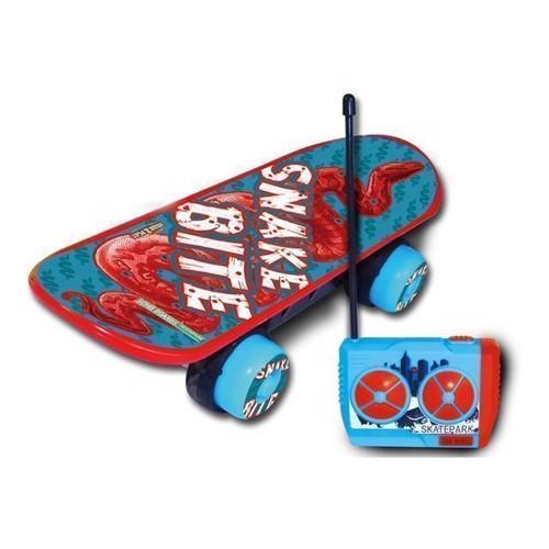 Image of   Fjernstyret skateboard, blå
