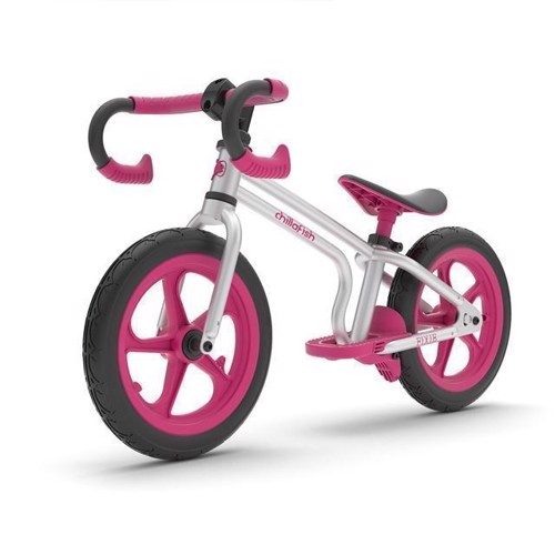 Image of   Chillafish Fixie løbecykel pink