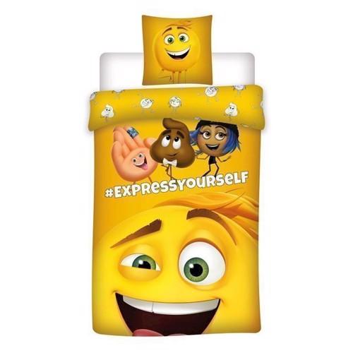 Image of   Sengetøj til børn, Emoji