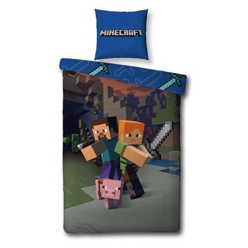 Image of Sengetøj, Minecraft (5425039185484)