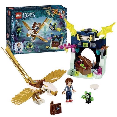 Image of Lego Elves 41190 Emily Jones & ørneflugten (5702016100600)