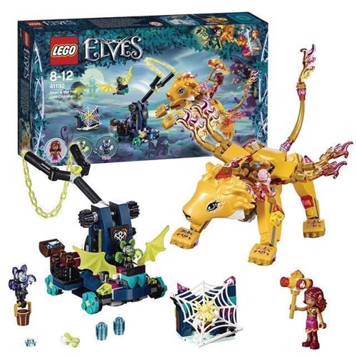 Image of LEGO Elves 41192 Azari and the Catch of the Fire Lion (5702016100624)